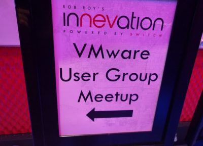 VMUG Las Vegas May 2017 Meeting