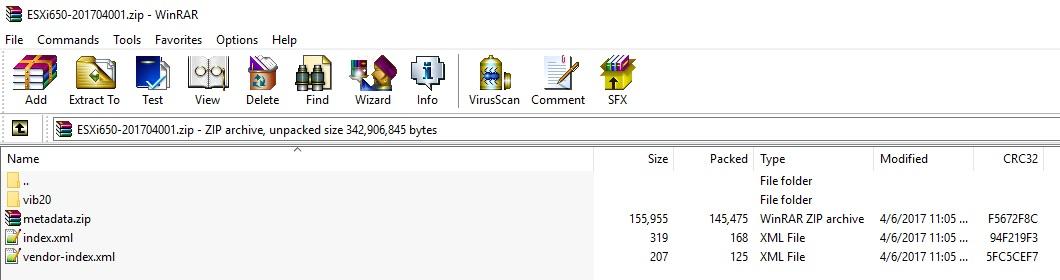 Upgrade ESXi 6 5 Version using the Offline Bundle   VMscrub